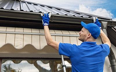 adding GutterShutters to a home
