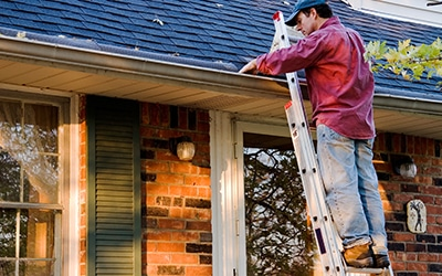 clean out gutters